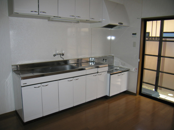 サザンヒルズ  C号室 キッチン