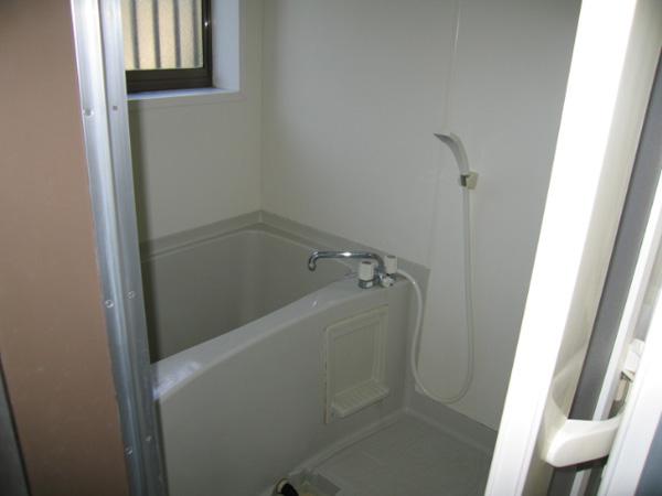 フラワーハイツ C号室 浴室