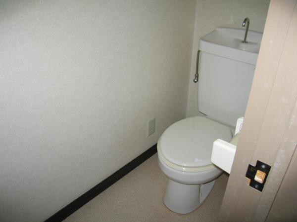 フラワーハイツ C号室 トイレ