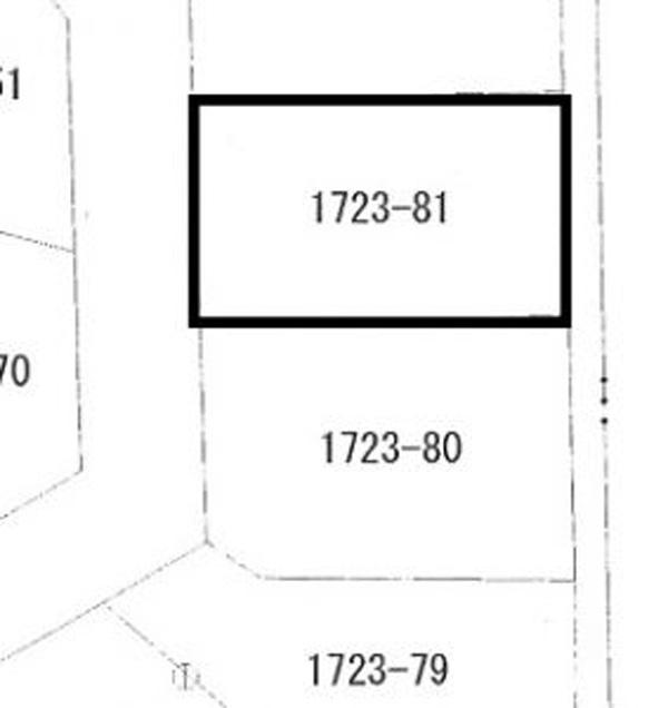 神崎町郡土地 区画図