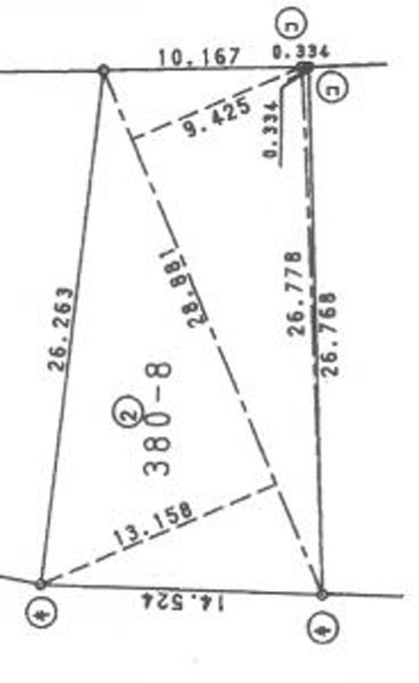 観音土地 区画図