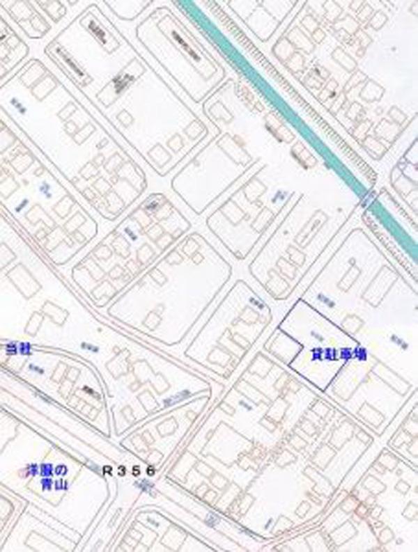 粉名口駐車場2 地図